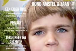 Magazine JONG rond Amstel & Zaan verschenen, thema: huisvesting kwetsbare gezinnen