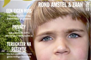 JONG magazine verschenen, thema: huisvesting kwetsbare gezinnen