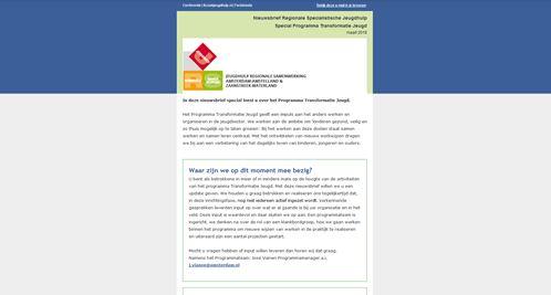 Nieuwsbrief maart Programma Transformatie Jeugd #1
